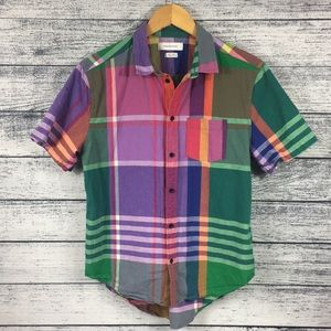 Urban Outfitters Multi Color Casual Button Down